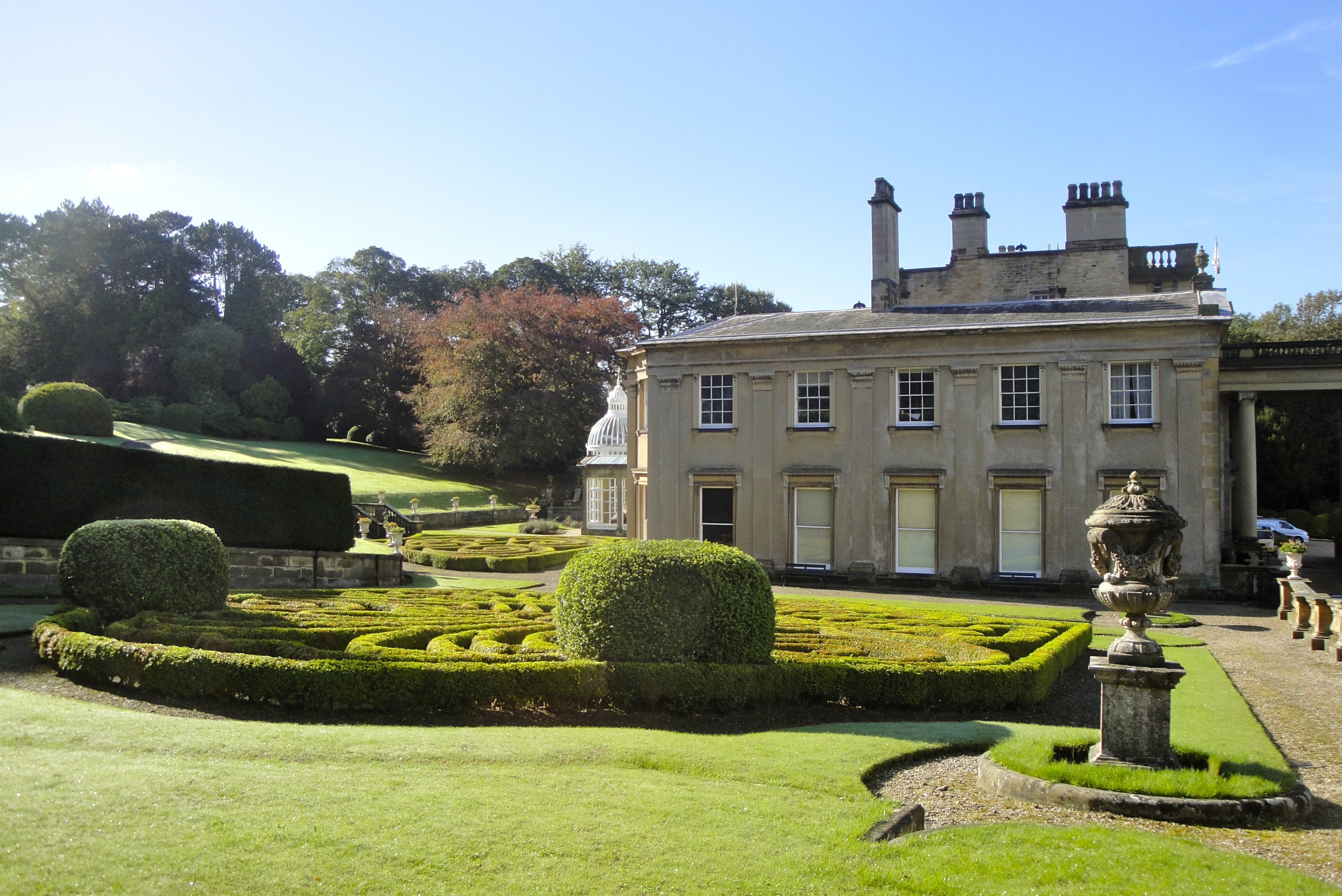 Brougton Hall Estate Landscape Architecture
