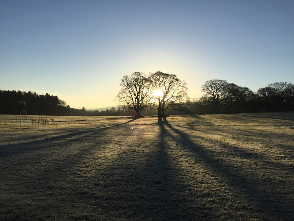 Sun Rise At Broughton Hall