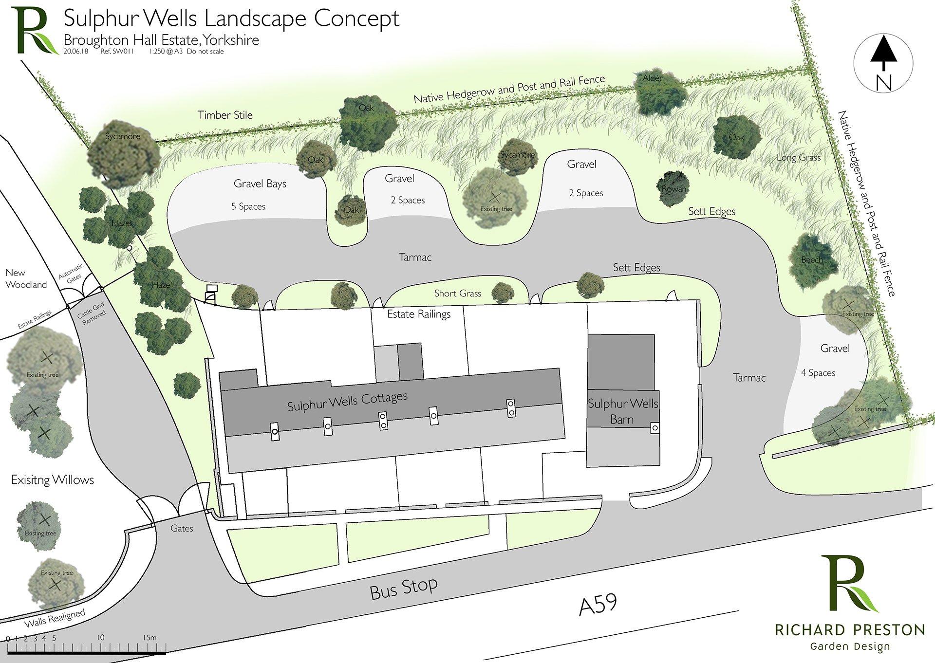 Sulphur Wells landscape Design